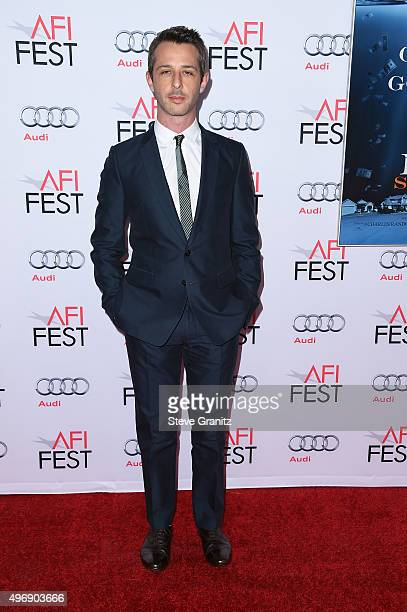 Actor Jeremy Strong attends the closing night gala premiere of Paramount Pictures' The Big Short during AFI FEST 2015 at TCL Chinese Theatre on...