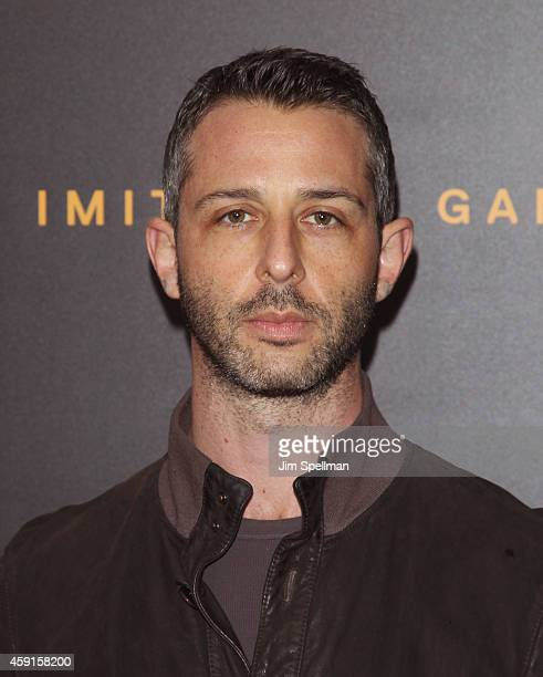 """Actor Jeremy Strong attends """"The Imitation Game"""" New York Premiere at Ziegfeld Theater on November 17, 2014 in New York City."""