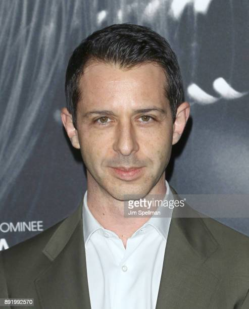 Actor Jeremy Strong attends the Molly's Game New York premiere at AMC Loews Lincoln Square on December 13 2017 in New York City