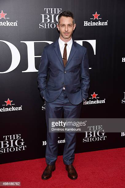 """Actor Jeremy Strong attends the premiere of """"The Big Short"""" at Ziegfeld Theatre on November 23, 2015 in New York City."""
