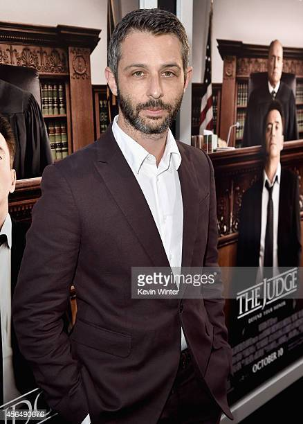 Actor Jeremy Strong attends the Premiere of Warner Bros Pictures and Village Roadshow Pictures' The Judge at AMPAS Samuel Goldwyn Theater on October...