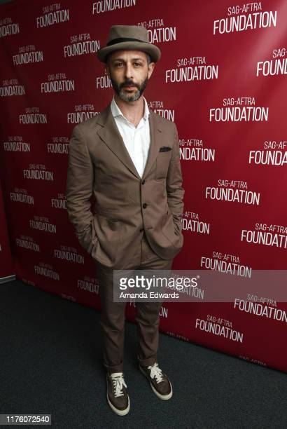 Actor Jeremy Strong attends the SAGAFTRA Foundation Conversations with Succession at the SAGAFTRA Foundation Screening Room on September 20 2019 in...