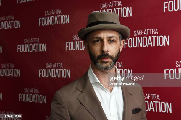 """Actor Jeremy Strong attends the SAG-AFTRA Foundation Conversations with """"Succession"""" at the SAG-AFTRA Foundation Screening Room on September 20, 2019..."""