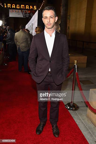 Actor Jeremy Strong attends the Selma first look during the AFI FEST 2014 presented by Audi at the Egyptian Theatre on November 11 2014 in Hollywood...