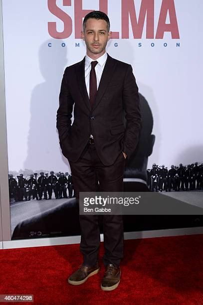 Actor Jeremy Strong attends the Selma New York Premiere at Ziegfeld Theater on December 14 2014 in New York City
