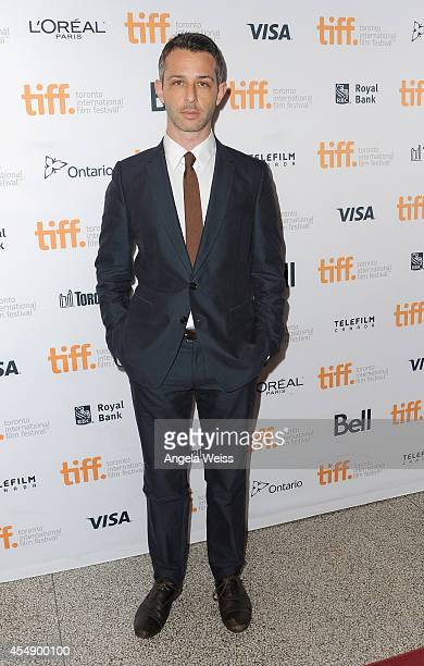 Actor Jeremy Strong attends the Time Out Of Mind premiere during the 2014 Toronto International Film Festival at Winter Garden Theatre on September 7...