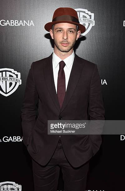 Actor Jeremy Strong attends the Warner Bros. Pictures and Dolce & Gabbana TIFF cocktail party during the 2014 Toronto International Film Festival at...