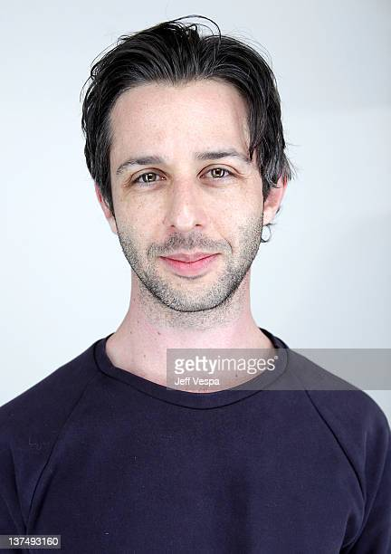 Actor Jeremy Strong poses for a portrait during the 2012 Sundance Film Festival at the WireImage Portrait Studio at T-Mobile Village at the Lift on...