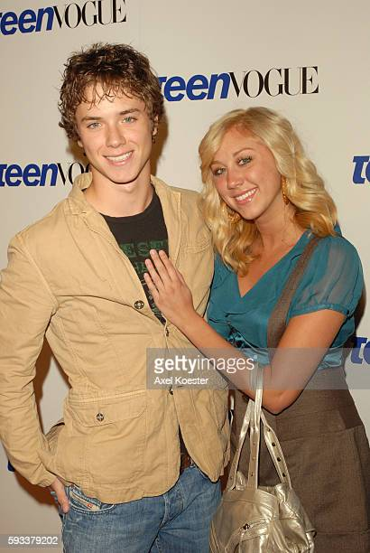 Actor Jeremy Sumpter and Alissa Tabit arrive at the Teen Vogue Young Hollywood Party at Vibiana in downtown Los Angeles
