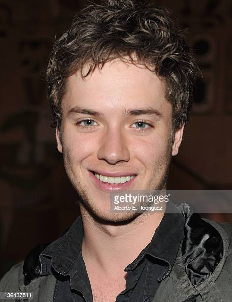 Actor Jeremy Sumpter attends the premiere of Beneath The Darkness at the Egyptian Theatre on January 4 2012 in Hollywood California