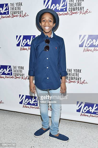 Actor Jeremy T Villas attends 'You're A Good Man Charlie Brown' Opening Night After Party at Dylan's Candy Bar on May 31 2016 in New York City