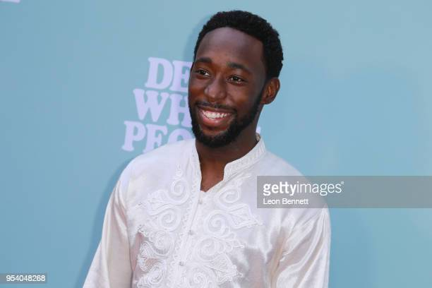 Actor Jeremy Tardy attends the Screening Of Netflix's Dear White People Season 2 Arrivals at ArcLight Cinemas on May 2 2018 in Hollywood California