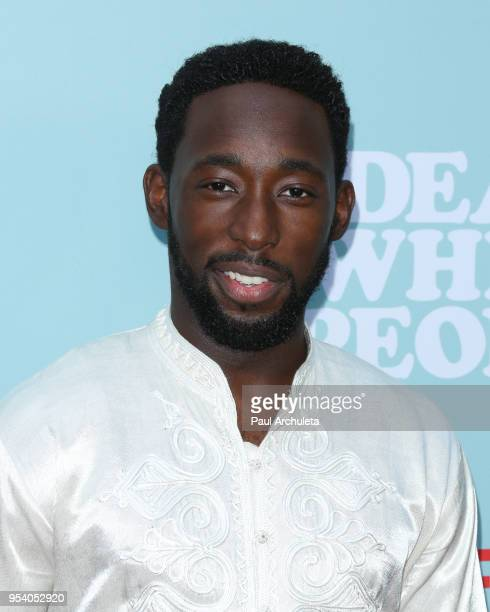 Actor Jeremy Tardy attends the screening of Netflix's Dear White People season 2 at ArcLight Cinemas on May 2 2018 in Hollywood California