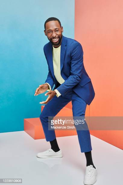 Actor Jeremy Tardy is photographed for Entertainment Weekly Magazine on February 27, 2020 at Savannah College of Art and Design in Savannah, Georgia....