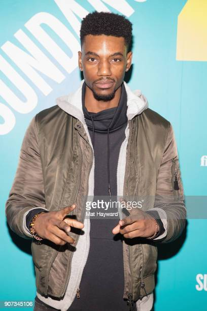 Actor Jermaine Crawford attends the 2018 Sundance Film Festival Official Kickoff Party Hosted By SundanceTV at Sundance TV HQ on January 19 2018 in...