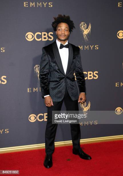 Actor Jermaine Fowler attends the 69th Annual Primetime Emmy Awards - Arrivals at Microsoft Theater on September 17, 2017 in Los Angeles, California.