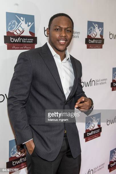 Actor Jermel Howard attends the 2017 Black Women Film Summit Untold Stories awards luncheon at Atlanta Marriott Marquis on March 3 2017 in Atlanta...