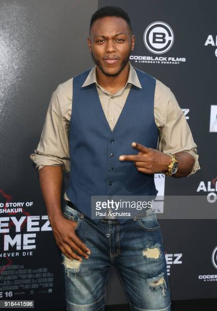 Actor Jermel Howard attends the premiere of Lionsgate's 'All Eyez On Me' on June 14 2017 in Los Angeles California