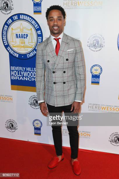 Actor Jerrel O'Neal attends the 27th Annual NAACP Theatre Awards at Millennium Biltmore Hotel on February 26 2018 in Los Angeles California