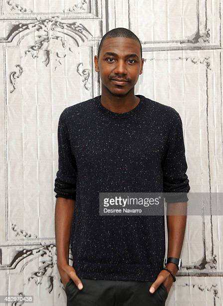 Actor Jerrod Carmichael attends AOL Build Speaker Series Presents Jerrod Carmichael to talk about his new NBC show 'The Carmichael Show' at AOL...
