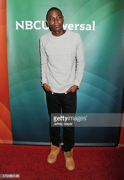 Actor Jerrod Carmichael attends the 2015 NBCUniversal Summer Press Day held at the The Langham Huntington Hotel and Spa on April 02, 2015 in...