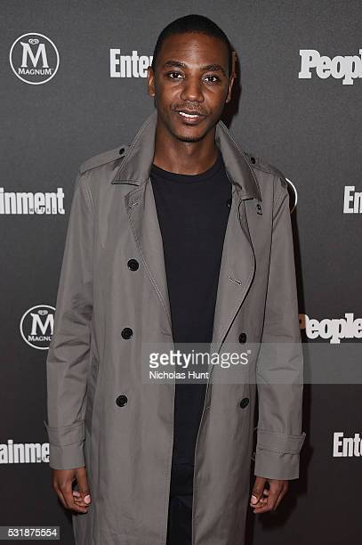 Actor Jerrod Carmichael attends the 2016 Entertainment Weekly People New York Upfronts VIP Party at Cedar Lake on May 16 2016 in New York City