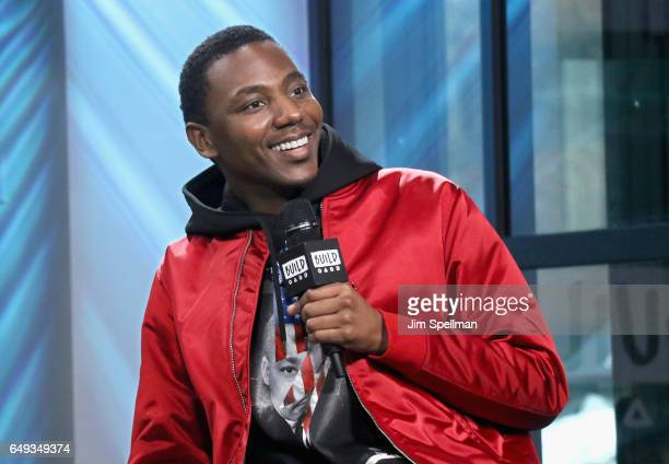 Actor Jerrod Carmichael attends the Build series to discuss 8 at Build Studio on March 7 2017 in New York City