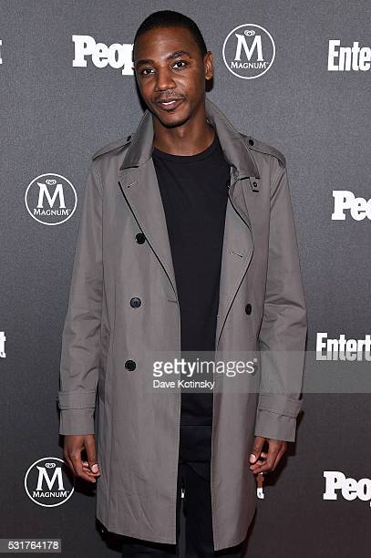 Actor Jerrod Carmichael attends the Entertainment Weekly People Upfronts party 2016 at Cedar Lake on May 16 2016 in New York City