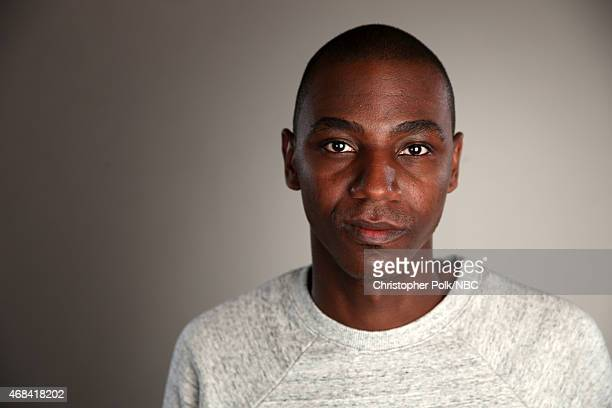 Actor Jerrod Carmichael poses for a portrait during the NBCUniversal Summer Press Day at The Langham Huntington Pasadena on April 2 2015 in Pasadena...