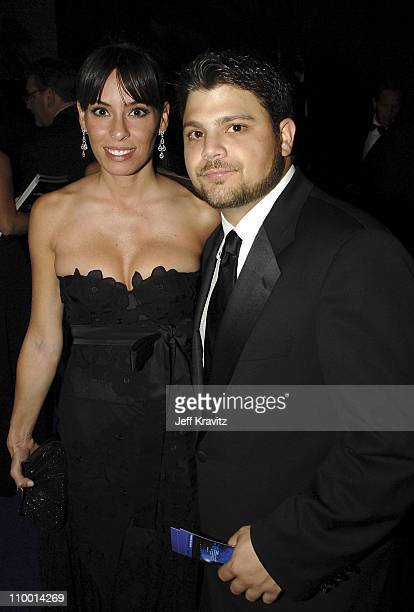 Actor Jerry Ferrara and guest attends the 59th Annual Emmy Awards Governors Ball on September 16th 2007 in Los Angeles California