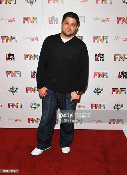 Actor Jerry Ferrara arrives at the Friends And Family GRAMMY Event at Paramount Studios on January 29 2010 in Los Angeles California