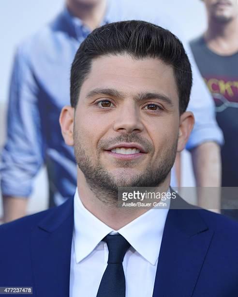 Actor Jerry Ferrara arrives at the Los Angeles premiere of 'Entourage' at Regency Village Theatre on June 1 2015 in Westwood California