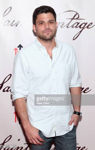 """Actor Jerry Ferrara arrives at the Saint Vintage """"Love Tour"""" held at the Andaz hotel on March 22, 2012 in West Hollywood, California."""