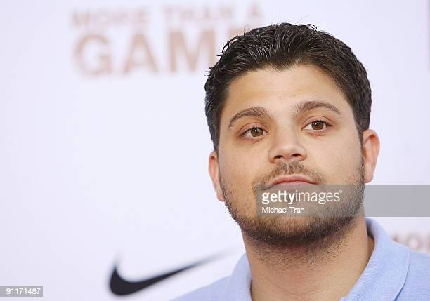 """Actor Jerry Ferrara arrives to the Los Angeles premiere of """"More Than A Game"""" held at Pacific Theaters at the Grove on September 26, 2009 in Los..."""