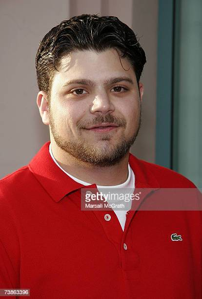 Actor Jerry Ferrara attends an evening with Entourage presented by ATAS at the Leonard H Goldenson Theatre on April 11 2007 in North Hollywood...