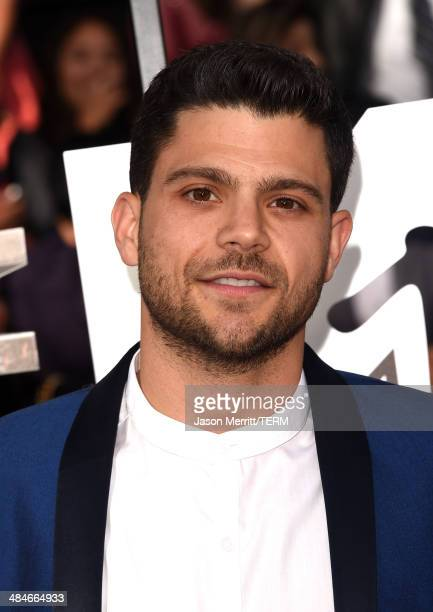 Actor Jerry Ferrara attends the 2014 MTV Movie Awards at Nokia Theatre LA Live on April 13 2014 in Los Angeles California