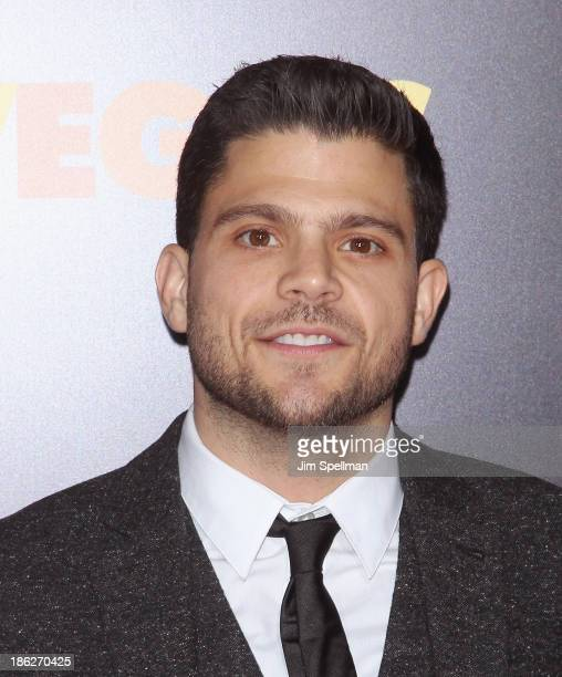 """Actor Jerry Ferrara attends the """"Last Vegas"""" premiere at the Ziegfeld Theater on October 29, 2013 in New York City."""