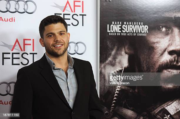 Actor Jerry Ferrara attends the premiere for Lone Survivor during AFI FEST 2013 presented by Audi at TCL Chinese Theatre on November 12 2013 in...