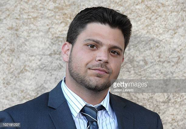 Actor Jerry Ferrara attends the season 7 premiere of HBO's Entourage at Paramount Studios on June 16 2010 in Los Angeles California