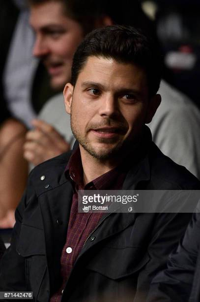 Actor Jerry Ferrara attends the UFC 217 event inside Madison Square Garden on November 4, 2017 in New York City.