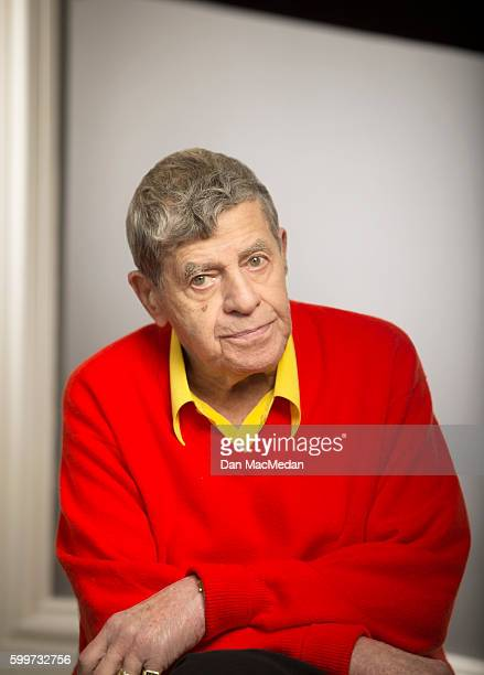 Actor Jerry Lewis is photographed for USA Today on August 25 2016 in Los Angeles California