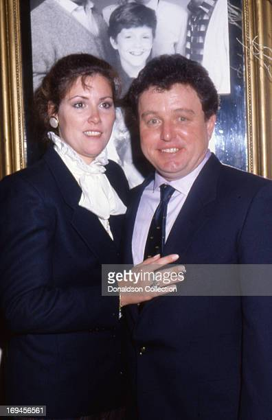 Actor Jerry Mathers and his wife Rhonda Mathers attend an event in 1986 in Los Angeles California