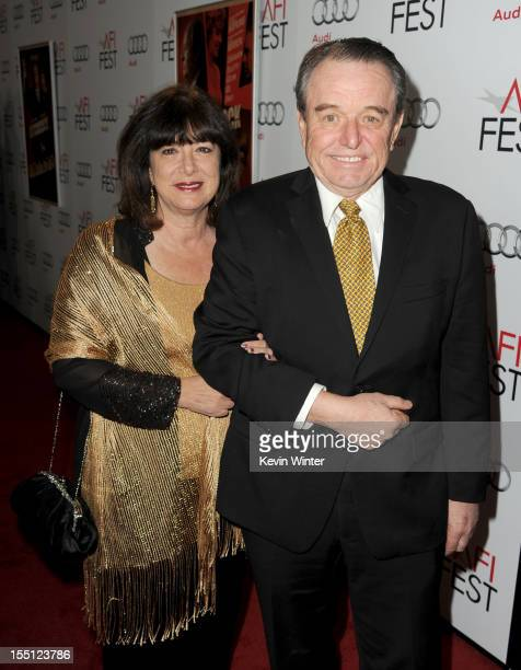 Actor Jerry Mathers and Teresa Modnick arrive at the premiere of Hitchcock during AFI Fest 2012 presented by Audi at Grauman's Chinese Theatre on...