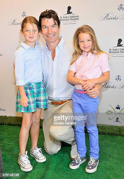 Actor Jerry O'Connell and daughters attend Brooks Brothers MINI CLASSIC Golf Tournament to benefit St Jude Children's Research Hospital at Brooks...