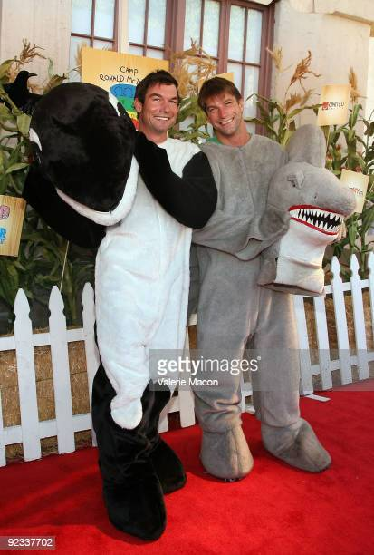 Actor Jerry O'Connell arrives at camp Ronald McDonald for good times 17th annual Halloween Carnival at Universal Studios Backlot on October 25 2009...