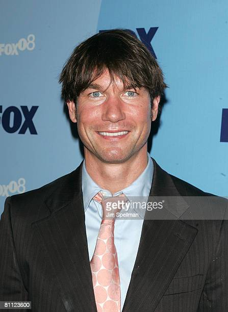 Actor Jerry O'Connell arrives at the 2008 FOX UpFront at Wollman Rink in Central Park on May 15 2008 in New York City