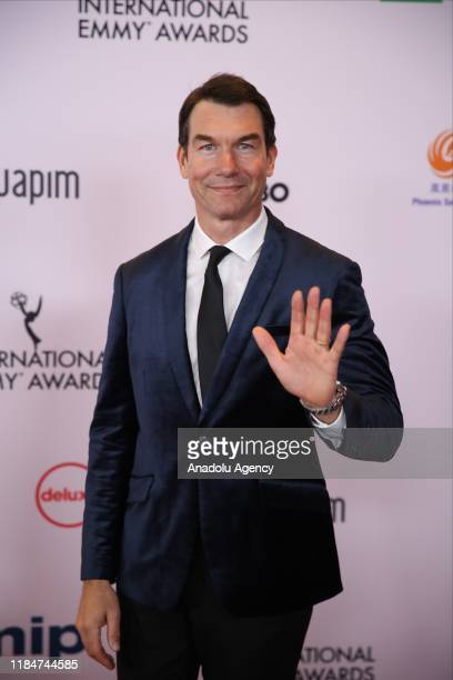 US actor Jerry O'Connell arrives for the 47th Annual International Emmy Awards at New York Hilton on November 25 2019 in New York City