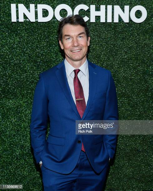 Actor Jerry O'Connell attends Indochino Los Angeles Spring/Summer '19 Launch Party at SkyBar at the Mondrian Los Angeles on March 13 2019 in West...
