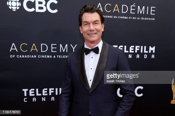Actor Jerry O'Connell attends the 2019 Canadian Screen Awards Broadcast Gala at Sony Centre for the Performing Arts on March 31 2019 in Toronto Canada