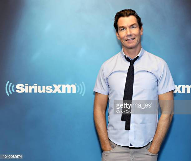 Actor Jerry O'Connell visits the SiriusXM Studios on September 24 2018 in New York City
